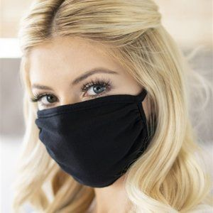 2 for $30.! Black print face mask
